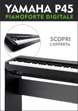 Pianoforte digitale Yahama P45
